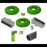 Légtechnikai Előszerelés - Optimum csomag (110-180 m2)